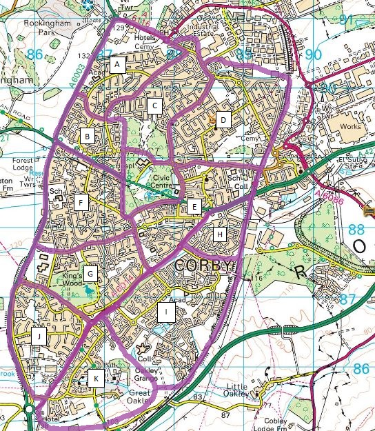 Corby_leaflet_delivery_map